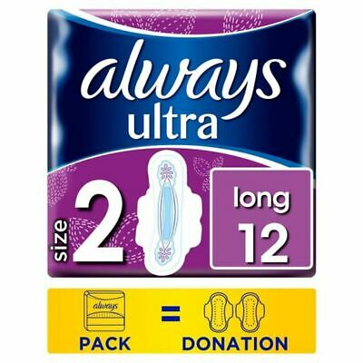 Always Ultra Long Size 2 Sanitary Towels With Wings 12