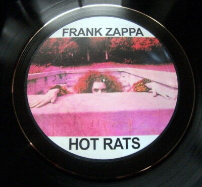 Frank Zappa Hot Rats Vinyl Lp Retro Bowl High  Quality Ideal Gift Others Listed.