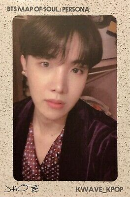 ✨Bts 방탄소년단 Map Of Soul : Persona✨ -Official Authentic Photo Card  - Member Jhope