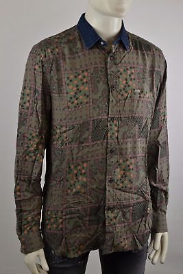 Diesel Blink Shirt Men's Shirt Long Sleeve Shirt Leisure Shirts Size Selectable
