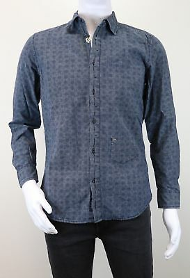 Diesel Shaaron Shirt Men's Long Sleeve Leisure Size Selectable