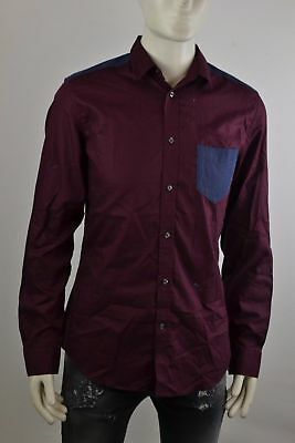 Diesel Carry Shirt Men's Shirt Long Sleeve Shirt Leisure Shirts Size Selectable
