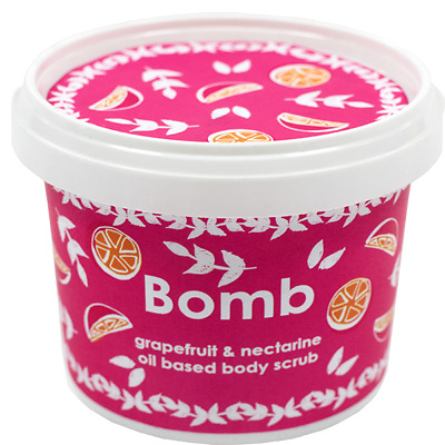 Bomb Cosmetics Grapefruit & Nectarine Oil Based Body Scrub - NEW!!