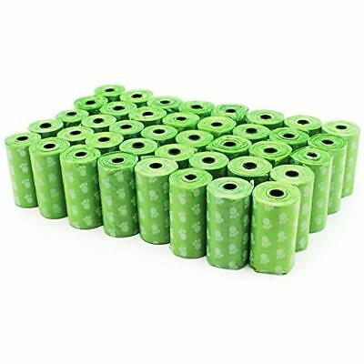 EcoJeannie 800-Count (40 Rolls) Dog Poop Bags Environment Friendly W/ D2w For