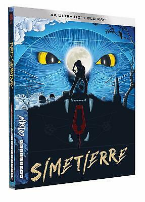 Simetierre Steelbook 4K Ultra Hd +  Blu Ray Neuf Sous Cellophane