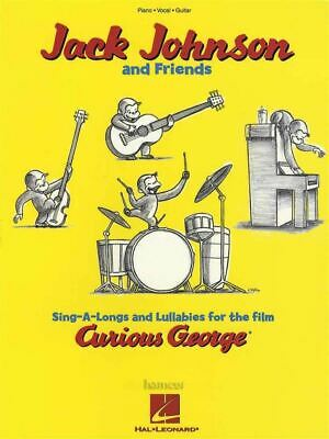 Jack Johnson & Friends Curious George Piano Vocal Guitar Sheet Music Book