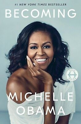 Signed Becoming - Michelle Obama - Autographed Book - Hardcover - First Edition!