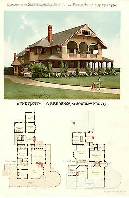 Southampton, L. I. - Scientific American Architects and Builders Edition - 1894