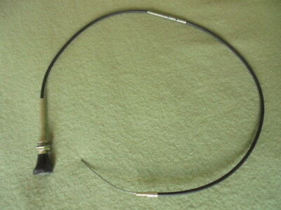 LAND ROVER CHOKE CABLE. Possibly NTC3932. Ex MOD Series