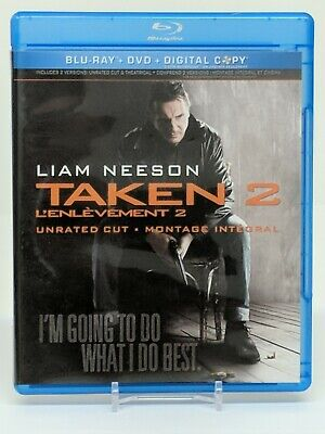 Taken 2 Blu-ray/DVD Unrated/Theatrical Bilingual Bluray