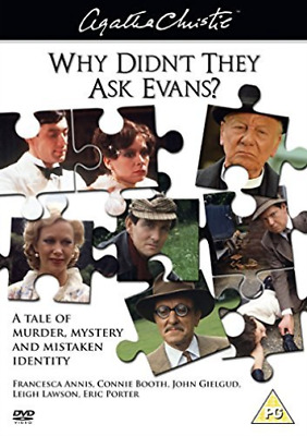 Francesca Annis, John Gielgud-Agatha Christie's Why Didn't T (UK IMPORT) DVD NEW