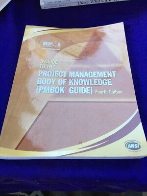 A Guide to the Project Management Body of Knowledge: (PMBOK Guide)4th Edition