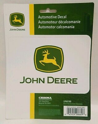John Deere 3M vinyl Decal Sticker Car Truck Window Bumper Laptop Wall no bubbles