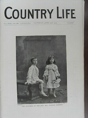 COUNTRY LIFE 17 June 1905 Holland House Kensington