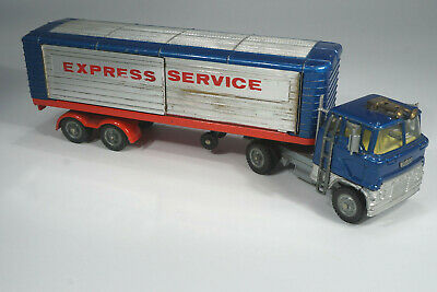 Corgi Toys No. 1137 Ford Articulated Trailer Express Diecast LKW - vintage