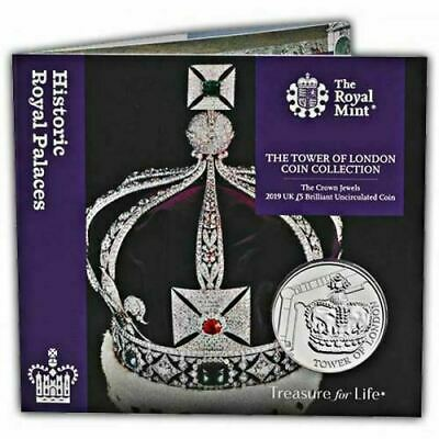 The Tower Of London Collection The Crown Jewels £5 Five Pound Coin BU 2019