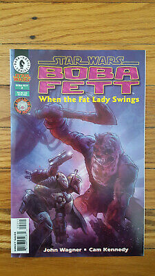 STAR WARS DARK Horse Comics Jabba The Hutt Lot Of 4 - $10 00