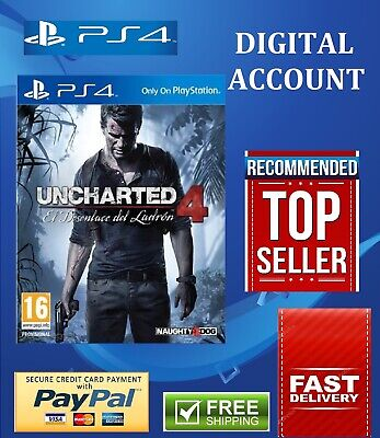 Uncharted 4 ps4 primary digital