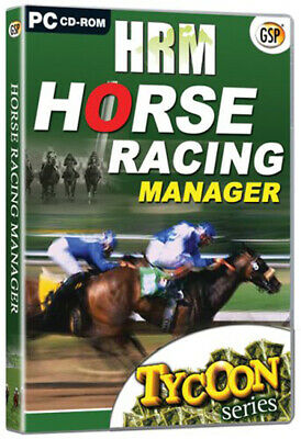 Horse Racing Manager (PC GAME) New & Sealed