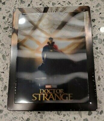 Doctor Strange - Limited Edition Steelbook (Blu-ray 2D/3D) BRAND NEW! Lenticular