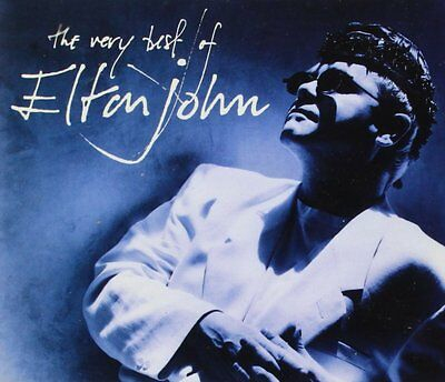 Elton John - The Very Best Of Elton John - UK CD album 1990