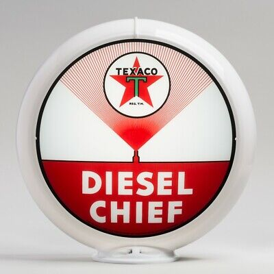 """G235 U.S FREE SHIPPING Oldsmobile Service 13.5/"""" Gas Pump Globe Only"""