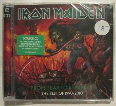 CD Iron Maiden - From Fear to Eternity : The Best of 1990-2010 (2011) New 2-disc