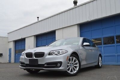 2016 BMW 5-Series i xDrive Premium Pkg Heated Front+Rear Seats+Steering Navigation Raer View Camera & More