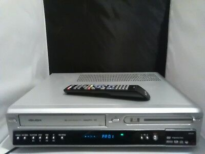 Vhs to dvd transfer》》》》》BUSH dvd vcr combi recorder Inc remote Control