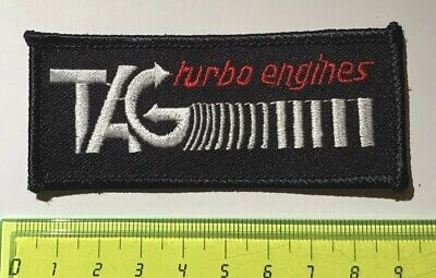 .Aufnäher Patch - TAG TURBO ENGINES