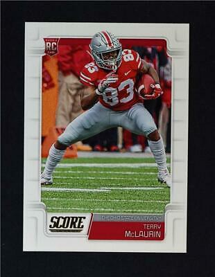 2019 Score Football Base Rookies #424 Terry McLaurin RC