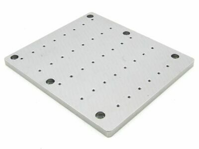 Aluminum 10mm 38xm4 Mounting Bracket Mounting Baseplate Mount Board 200x176mm