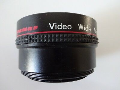 Lenmar Hi-Resolution 0.6X Video Auto Focus Wide Angle Lens 3 Element VWAF60
