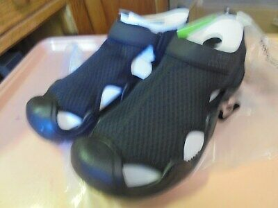 New Crocs Swiftwater Sandal men's size 15 Black/Black Relaxed Fit