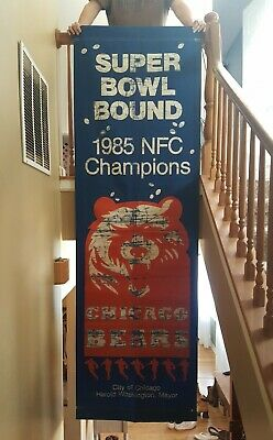 Chicago Bears City Banner NFC Champion