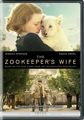 The Zookeeper's Wife (DVD, 2017) 16