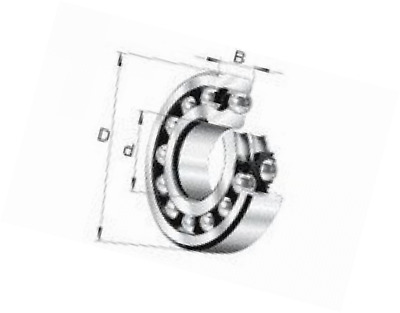 FAG 1201-TVH Self Aligning Ball Bearing