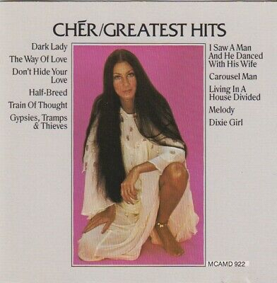 Cher - Greatest Hits (CD,1974 MCA) Fully Tested