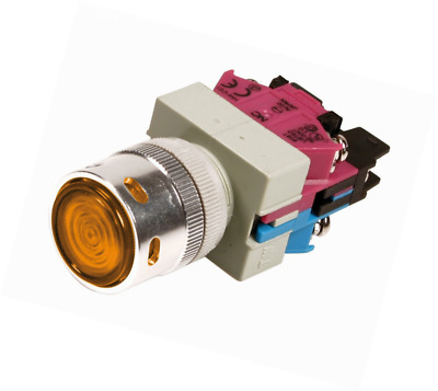 Lampa 45548 Switch Button, Yellow, 12 V 10A