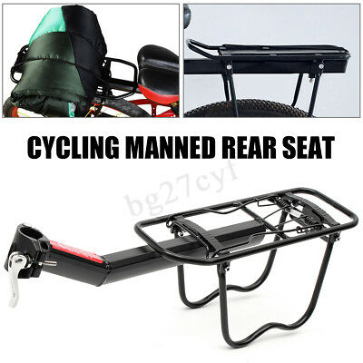 Alloy Bike Bicycle Cycling Rear Rack Pannier Back Seat Luggage Bag Carrier AU