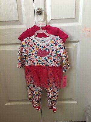 1c9a8a6dabff NWT BETSEY JOHNSON Printed Bodysuits - Set of 4 (Baby Girls) ONZIES ...