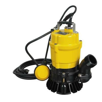 Wacker Utility Pump Submersible Electric Float Lightweight Compact 1/2 HP 2 in.