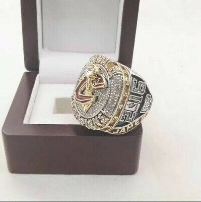2016 Lebron James Caveliers Basketball Championship Ring with Wooden Box
