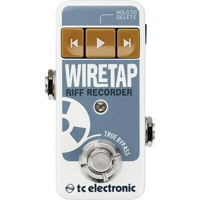 TC Electronic WireTap Riff Recorder Pedal with Bluetooth