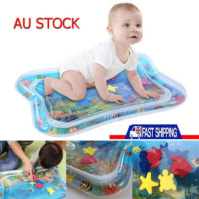 Inflatable Fun Water Play Mat For Kids Baby Child Infant Best Tummy Time AU POST