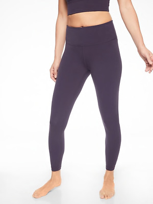 a058be2ded02fa NEW ATHLETA Elation 7/8 Tight Legging Powervita MP M PETITE Regal Plum SOFT  Yoga