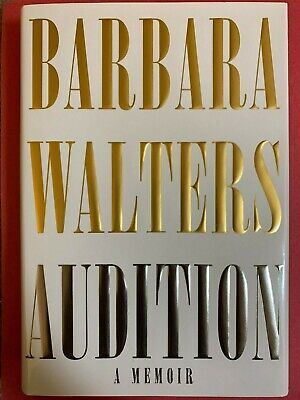 Barbara Walters HAND SIGNED Audition: A Memoir FIRST EDITION Hardcover Book