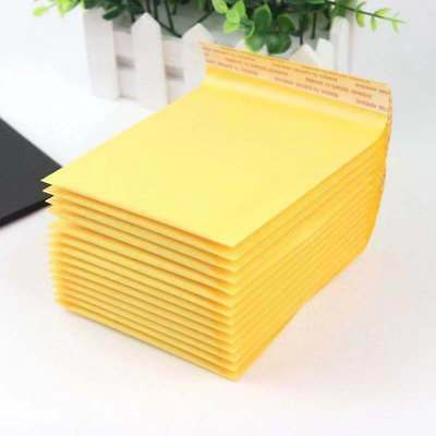"1-1000 #T 5x7 Kraft Bubble Mailers Padded Shipping Envelopes 5"" x 7"""