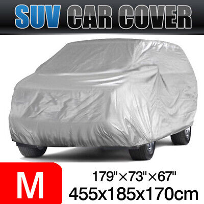 Size M Car Cover 170T Waterproof Sun UV Dust Rain Resistant Protection For SUV