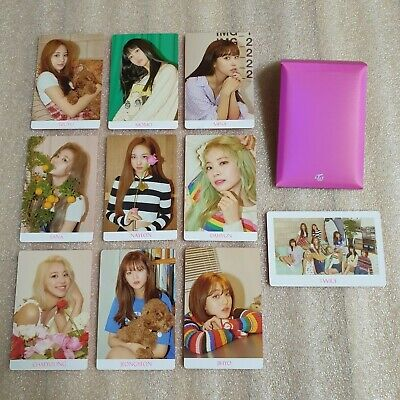 TWICE Fancy You 7th Mini Album Preorder Photocard B Ver. Select Option